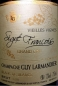 Preview: Champagne Grand Cru Millésimé 2008 Guy Larmandier