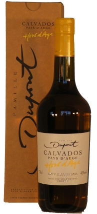 Calvados Hors D'Age 0,70 Liter Domaine Dupont
