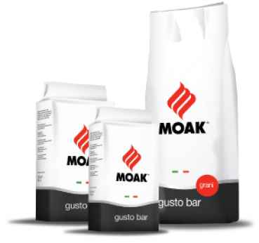 Moak Gusto Bar 60% Robusta, 40% Arabica