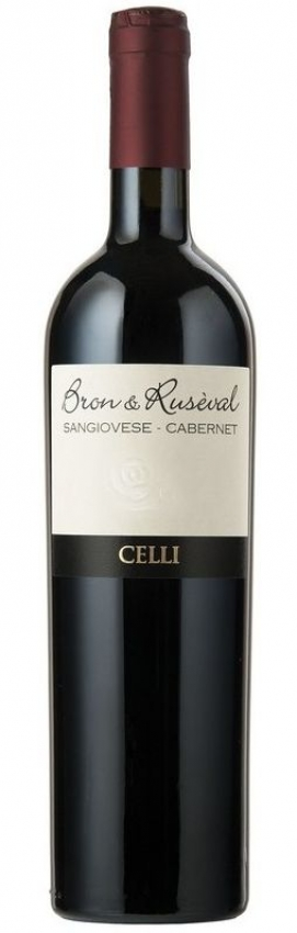 "Sangiovese- Cabernet Romagna IGT  ""Bron e Ruseval"" Celli 2014"